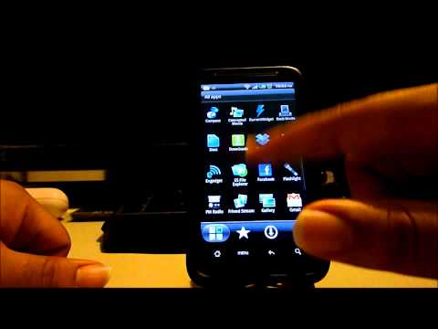 HTC Inspire 4g running Android Gingerbread 2.3.4
