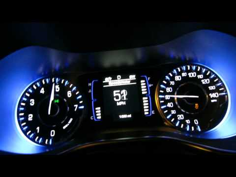 Chrysler 200 2.4L I4 MultiAir 9-speed ZF Auto FWD 0-60 mph (0-100 km/h)...