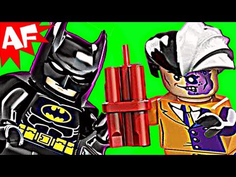 Batman BATMOBILE & TWO FACE 6864 Lego DC Comics Super Heroes Stop Motion Review