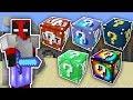 5 FARKLI ŞANS BLOKLARI CHALLENGE - Minecraft
