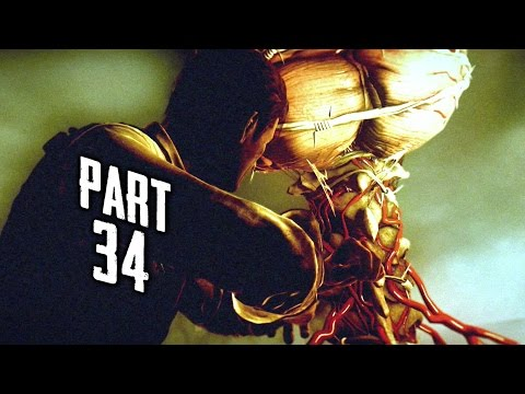 The Evil Within Walkthrough Gameplay Part 34 - Squid Boss (ps4) video