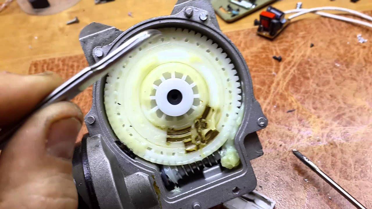 Ремонт привода стеклоочистителя приора своими руками