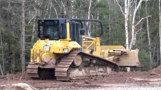 Cat D6N LGP Pushing Dirt