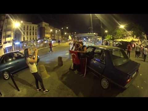 Стамбул, попытка военного переворота в Турции