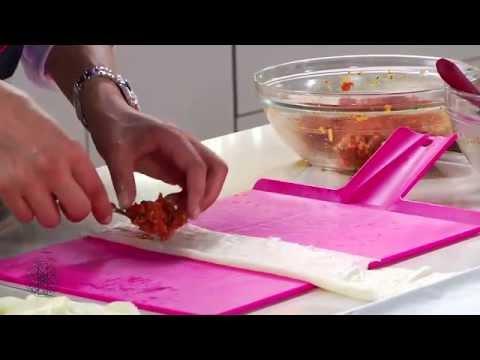 Choumicha: Briouates de viande hachée sucrées et salées / شميشة : بريوات بالكفتة أو بالكفتة والزبيب