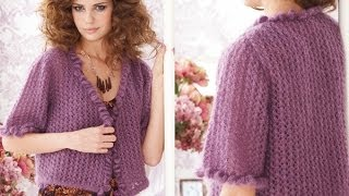 #25 Lace Cardigan, Vogue Knitting Early Fall 2010