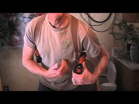 Sportsmens guide shoulder holster