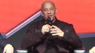 XXX Actor VIN DIESEL Says I've Never Seen A Reception Entering A Country Like India