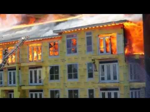 Celtnieks ugunsgrēkā