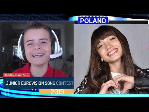 JUNIOR EUROVISION SONG CONTEST 2019 REACTION | POLAND | VIKI GABOR | SUPERHERO