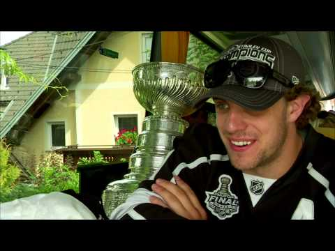 Anze Kopitar's Day With The Stanley Cup