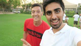 Mesut Ozil - Cross Bar Challenge in DUBAI !!!