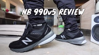 NEW BALANCE 990 V5 ON-FEET REVIEW (+RADIO SHOW WITH THE WIFEY!)
