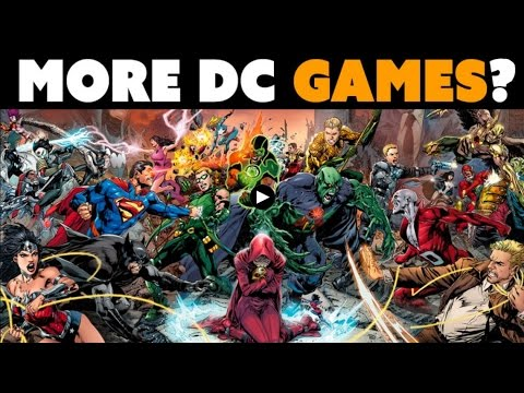 More DC Comics Games? - The Know