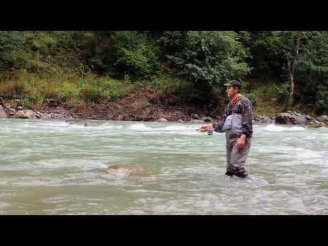 рыбалка на кавказе видео