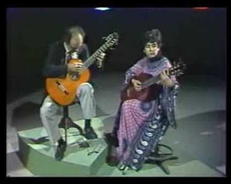 M. de Falla: Serenata Andaluza - Evangelos&Liza classical guitar duo