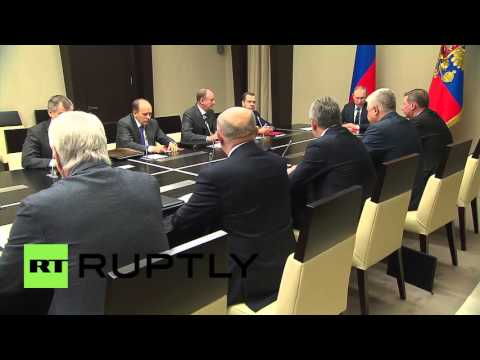 Russia: Putin meets with Security Council to discuss Baghdad Information Centre
