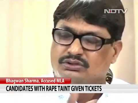 Candidates With Rape Charges Given Tickets Video  Ndtv Com Mp4 video