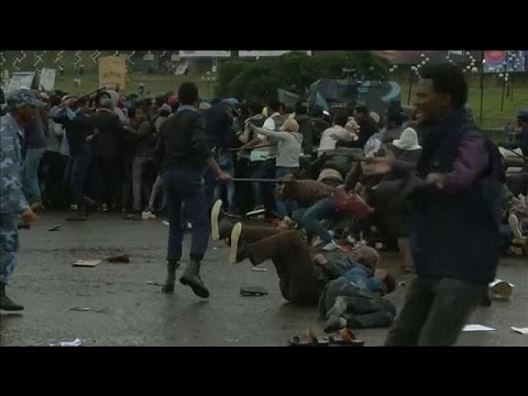 Africa News: Police brutally Break Up Anti-government Protest In Ethiopia's Capital