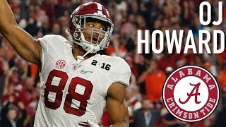 OJ Howard || Official Alabama Highlights