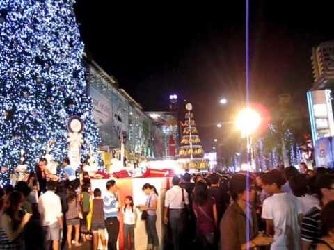 New Year 2010 Countdown @ Central World, Bangkok