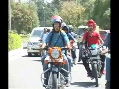 When Gul Panag rode a bike to Panjab University