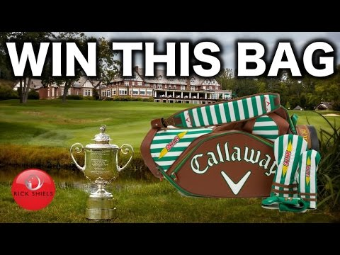 WIN THIS CALLAWAY LIMITED EDITION PGA CHAMPS TOUR BAG