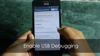 How to Enable USB Debugging (Developer Settings) in Android Kitkat 4.4.2