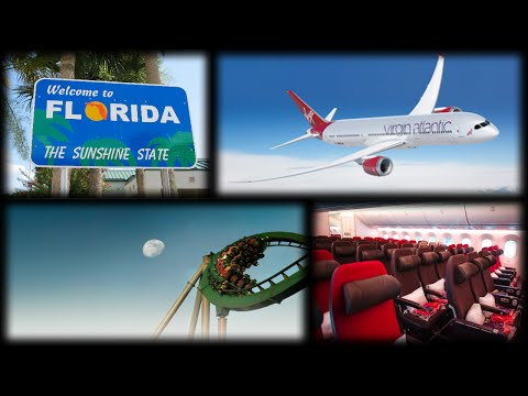 ★ ☆ OUR CHRISTMAS FLORIDA HOLIDAY! ▌Day 1 Part 2 - The Journey ★ ☆