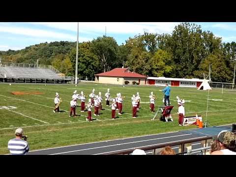 Unaka High School Band Chilhowie Competition 2014