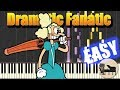 EASY Dramatic Fanatic Cuphead Piano Tutorial Synthesia HD Cover mp3 indir