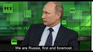 "Putin on Immigration - ""Russia is for Russians"""