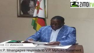 download lagu Vp Mnangagwa Responds To Vp Mphoko Statement On Poisoning gratis