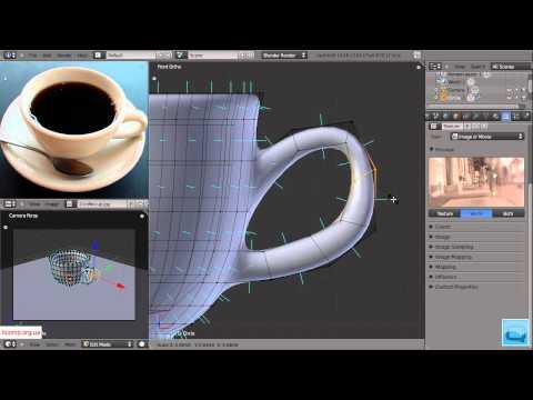 3D моделирование. Blender. Урок 2. Часть 3