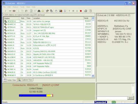 Echolink QSO entre N1NR & N4IKB