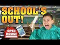 Last day of school open house room tour new cell phone prank
