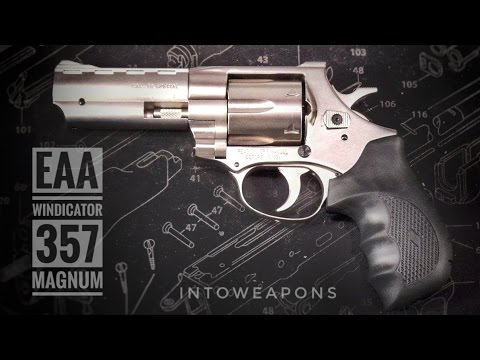 EAA Windicator .357 Mag - Unboxing and Shooting