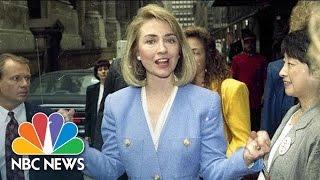 Hillary Clinton As First Lady | Flashback | NBC News