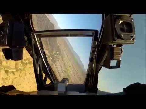 A-10 Thunderbolt II (Cockpit Video On Training Mission: GAU-8)