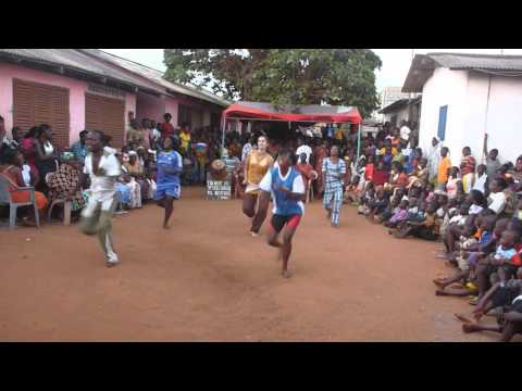 World Fusion Dance Co: West African dance with Kusun Group in Ghana