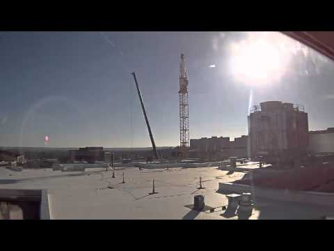 KU School of Engineering - Crane Removal Time Lapse