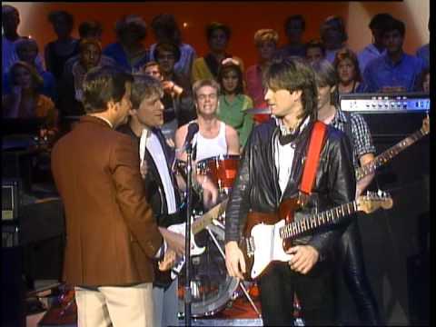 Dick Clark Interviews Bryan Adams- American Bandstand 1984