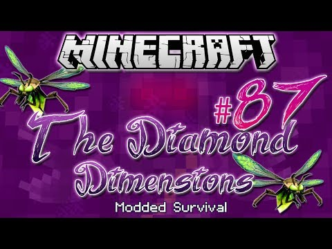 """POISONOUS FIREFLIES"" | Diamond Dimensions Modded Survival #87 | Minecraft"