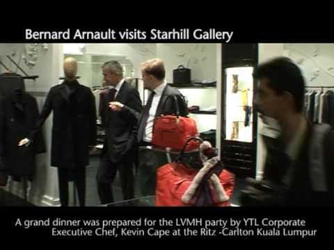 Bernard Arnault visits Starhill Gallery