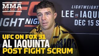 UFC on FOX 31: Al Iaquinta Would Like Tony Ferguson Next, Believes He Can Finish Him - MMA Fighting