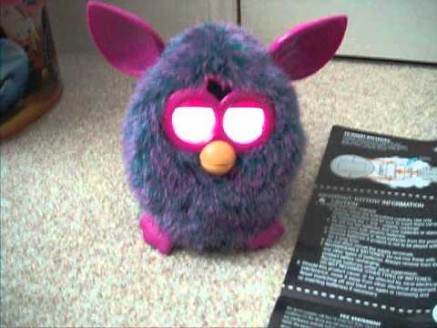Unboxing the new 2012 Furby