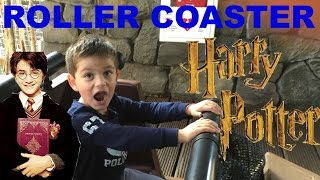 HARRY POTER ROLLER COASTER  ISLAND OF ADVENTURE AT ORLANDO KIDS VIDEO