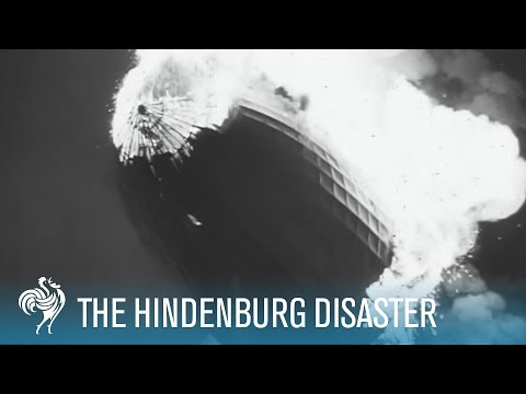 Hindenburg Disaster Real Footage (1937) [HD]