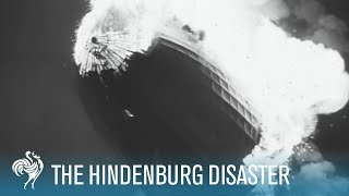 Hindenburg Disaster Real Footage (1937)