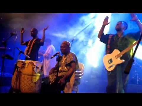 Osibisa Concert Singing Raghupati Raghava Raja Ram  Bangalore 03-may-13 video